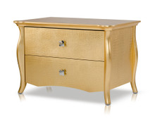 A&X Imperial - Gold Nightstand