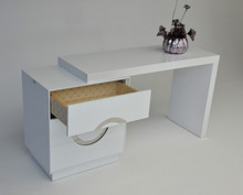 A&X Ovidius - Transitional White Vanity Table