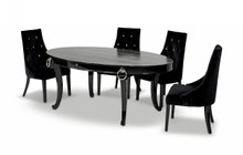 A&X Bellagio - Luxurious Crocodile Transitional Dining table
