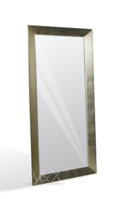 A&X Regal - Crocodile Silver Lacquer Mirror