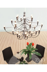 Bradyon Ceiling Lamp Chrome