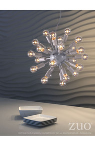 Propulsion Ceiling Lamp White