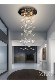 Inertia Ceiling Lamp Clear