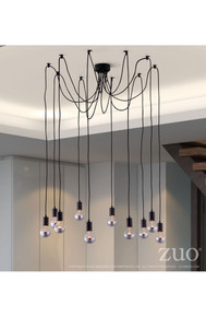 Fog Ceiling Lamp Black
