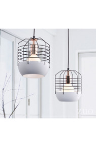 Chill Ceiling Lamp White & Black