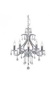 Palisade Ceiling Lamp Chrome
