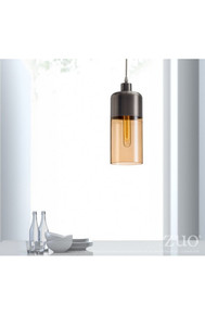 Vente Ceiling Lamp Satin & Amber