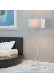 Rise Floor Lamp White