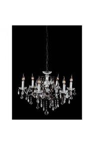 Gypsum Ceiling Lamp Distressed Black