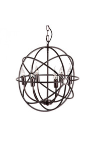 Hazenite Ceiling Lamp Distressed Black