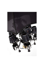 Sugilite Ceiling Lamp Black