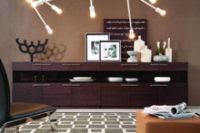 Modrest Daytona - Modern Brown Oak Buffet