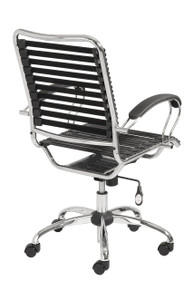Euro Bungie Flat J Arm Office Chair
