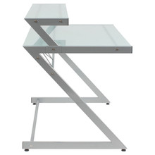 Euro Z Deluxe Medium Desk + Shelf
