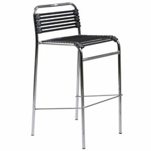 Bungie Flat Bar Chair (Set Of 4) - Black