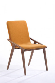 Modrest Zeppelin Modern Orange Dining Chair