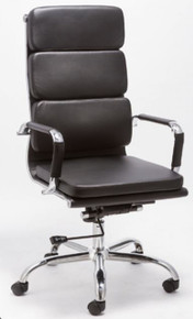 Modrest T-8223A Modern Black High Back Office Chair