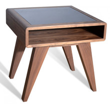 Nova Domus Soria Modern Walnut End Table