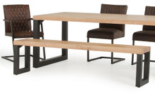 Modrest Reese Modern Drift Oak Dining Bench