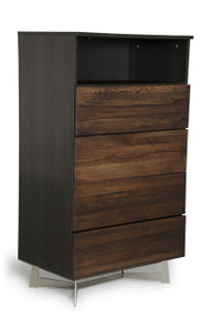Modrest Wharton Modern Dark Drift Oak Chest