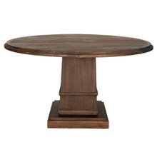 "Traditions Hudson 60"" Round Dining Table 6036-L"