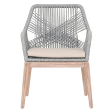 New Wicker Loom Arm Chair 6809