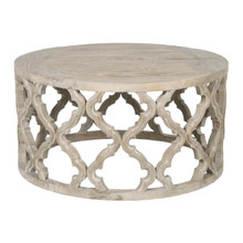 Bella Antique Clover Coffee Table 8027