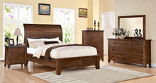 Modus Furniture Cally Low Profile Bedroom Set