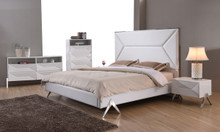 Modrest Candid Modern White Bedroom Set