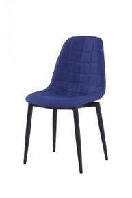Modrest Zella Modern Blue Dining Chair