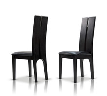 Modrest Maxi Black Oak Dining Chair