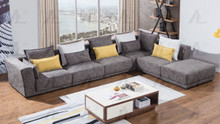 AE-L2361 Gray Fabric Sectional