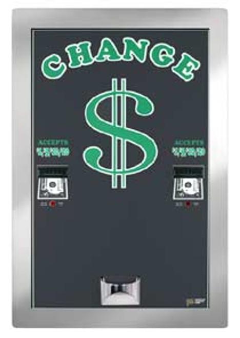 AC2225 Rear Load Bill Changer / Dual Changer / Dual Hopper / Dual Validators