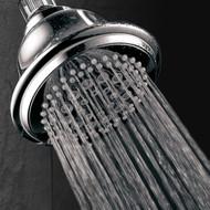 DreamSpa® High-Power Ultra-Luxury Shower Head / 7 Settings / Premium Chrome Finish / High-Fashion Bell Design