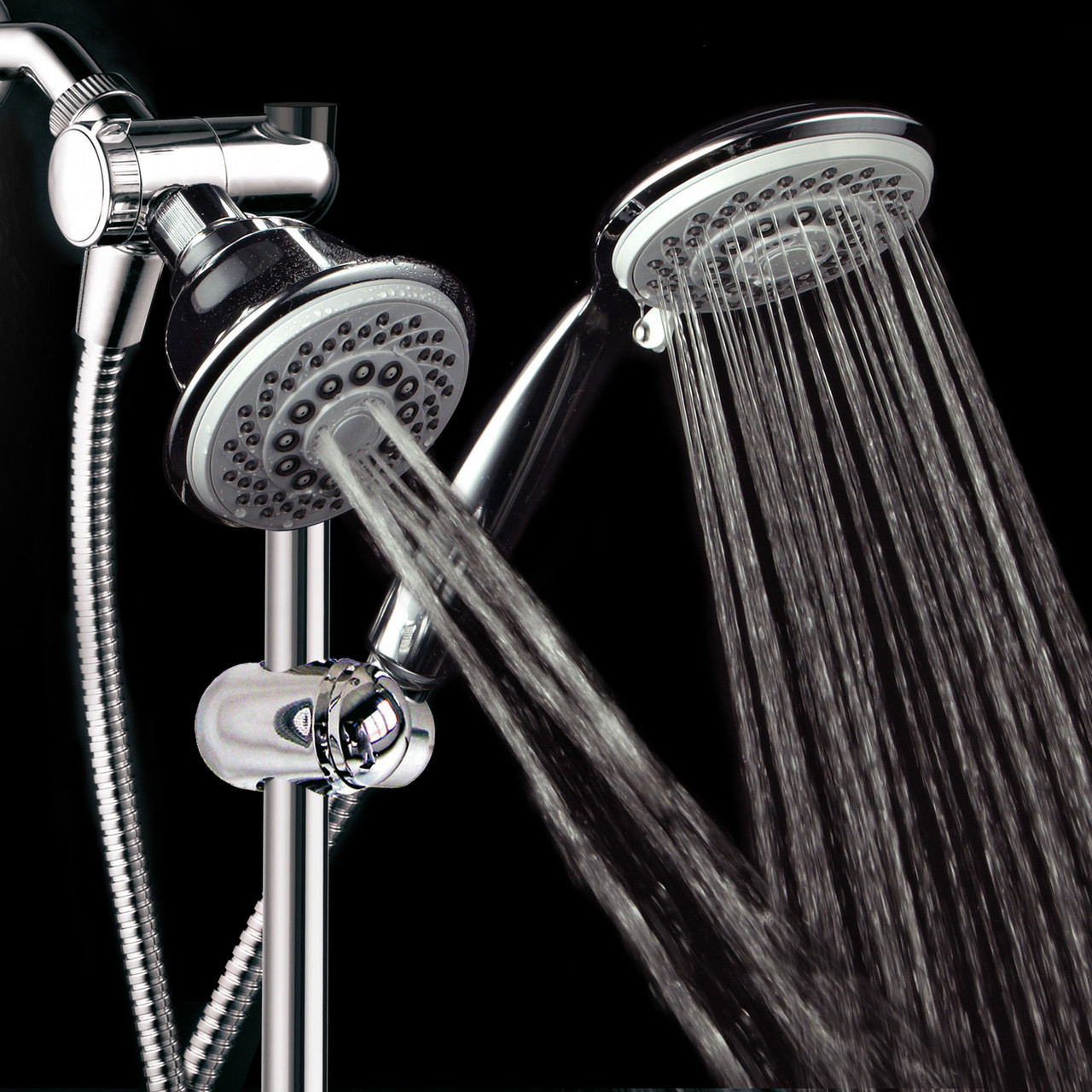 Hotelspa 30 Setting 3 Way Adjustable Shower Head Handheld Shower