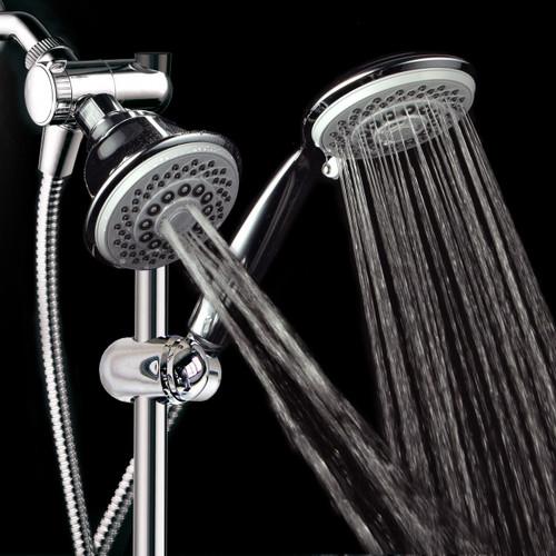 ... Head/Handheld Shower Slide Bar Combo. Image 1