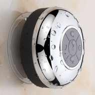 Hotel Spa® Chrome-Plated Waterproof Bluetooth Shower Speaker