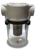 SOSTS-200C-SWITCH Clear Vacuum Trap (Electric Float Switch)