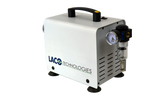 UN-250V Dry Piston Vacuum Pump (formerly the UN-200V) features an oil- and water-free design ideal for non-corrosive applications.  At 220 L/min, this powerful pump is ideal for moderate to heavy duty applications where a clean room environment is required.