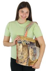 Laurel Burch Native Voices Shoulder Tote LB5580
