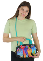 Laurel Burch Brazilian Birds Small Tote LB5782