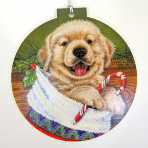Christmas Card - Hope your Christmas is Puppy Filled OCC92131