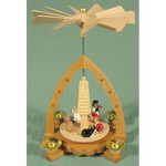 Cats Playing Arch Pyramid PYR163X53