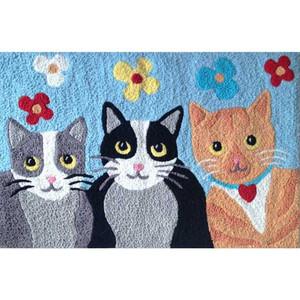 Feline Friends II - Floor Rug - JB-STS040