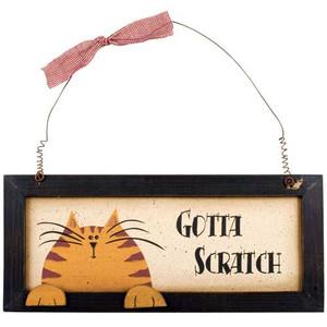 Cat Wall Decor - Gotta Scratch - 33335