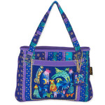 Laurel Burch Mythical Dogs Medium Tote