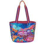 Laurel Burch Cats with Butterflies Medium Bag