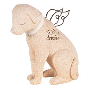 Devoted Faithful Dog Angel Figurine 14211