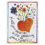 "Laurel Burch Small Birthday Card - ""Plant Your Dreams"" - BDN95481"