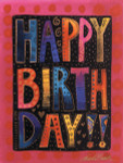 "Laurel Burch Card Birthday ""Happy Birthday"" - BDG13241"
